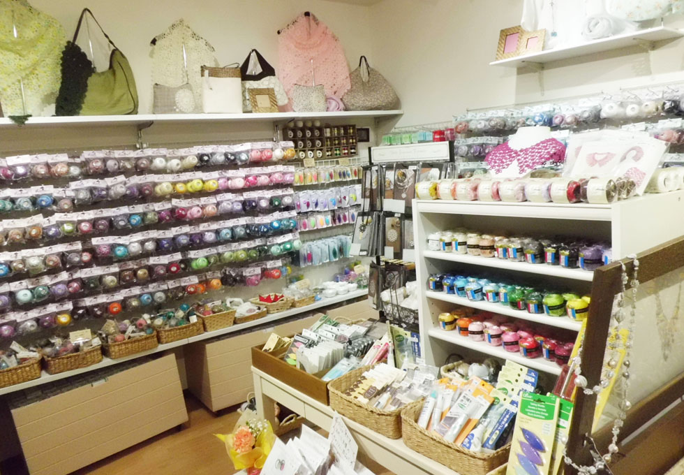 Knitting Store In Tokyo : Tatting lace shop in japan japanese book